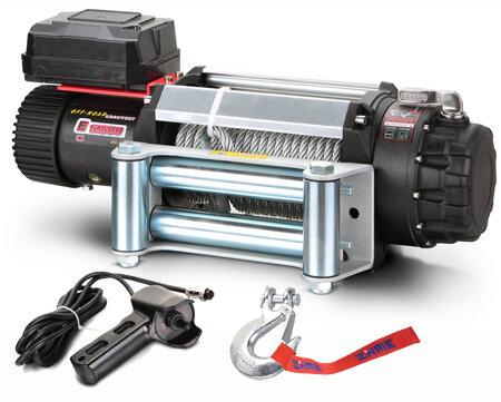 Автомобильная электрическая лебедка Master Winch E 12500-24V