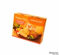 Вторые блюда ООО Мираторг, г. Москва Кордон Блю с ветчиной и сыром Мираторг, 405г