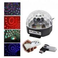 Светодиодный Диско-шар LED RGB Magic Ball Light (с MP3-плеером и ПДУ)