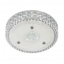 Светильник накладной светодиодный с диммером Citilux Кристалино CL705111 Белый + Прозрачный