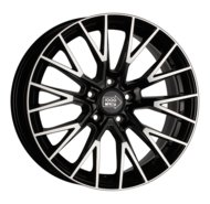 Диски R18 5x115 8J ET42 D70,3 1000 Miglia MM1009 Gloss Black Polished - фото 1