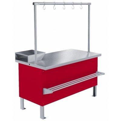 Прилавок холодильный среднетемпературный «Мясной» ПХС-1,00/0,85 (встроенное холодоснабжение) MXM-2252