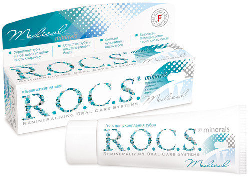 Зубная паста R.O.C.S. Гель для укрепления зубов Medical Minerals
