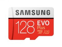 Карта памяти 128GB Samsung MB-MC128GA/RU microSDXC Class 10 UHS-I EVO+ V2 (SD adapter)