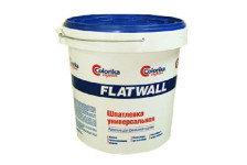 Шпатлевка Flatwall универсальная белая 6кг