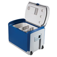 Холодильник-подогреватель термоэлектрический переносной 40л, 12В. PM5045
