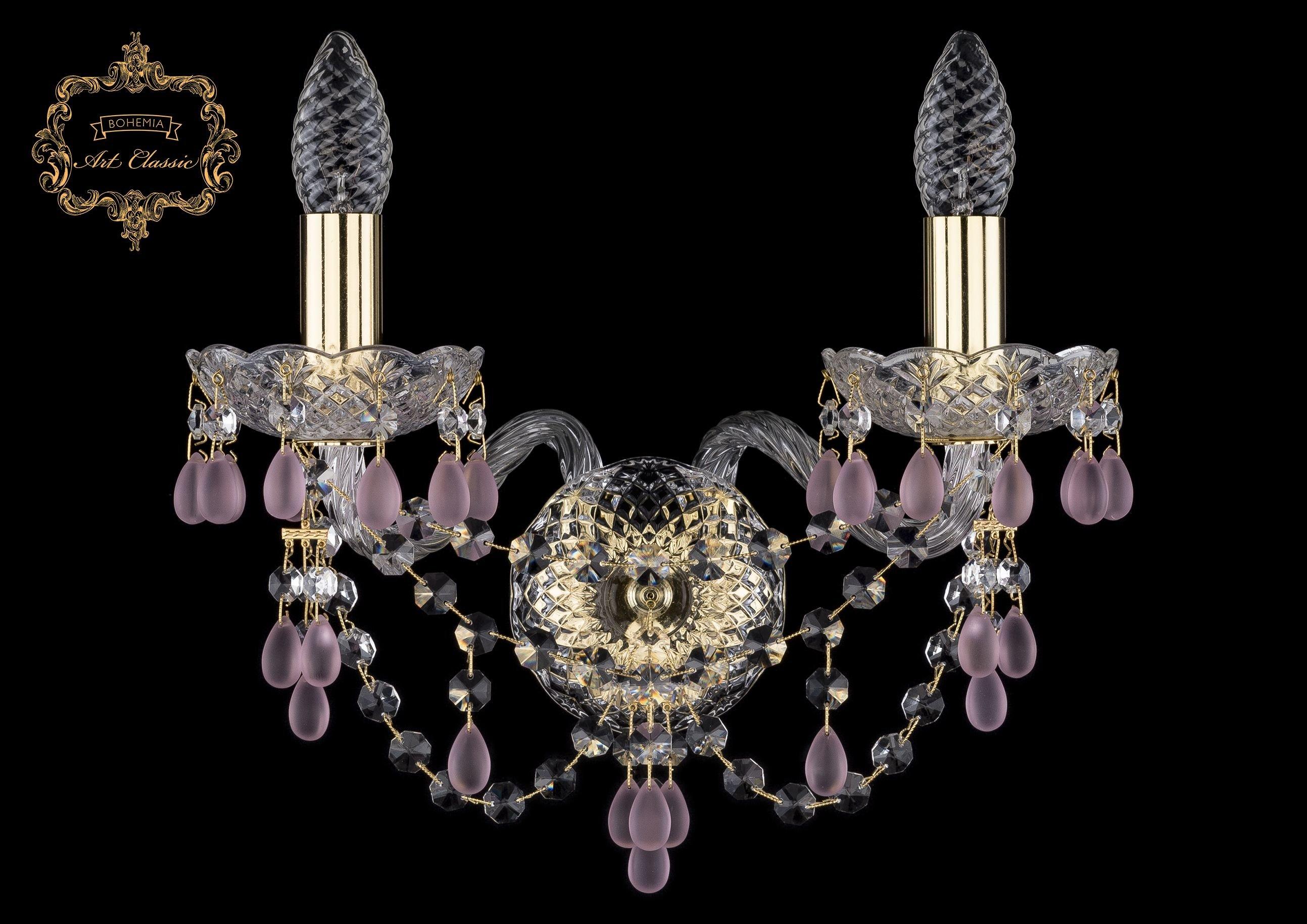 Настенный светильник Bohemia Art Classic 10.24.2.141.Gd.V7010 11.24