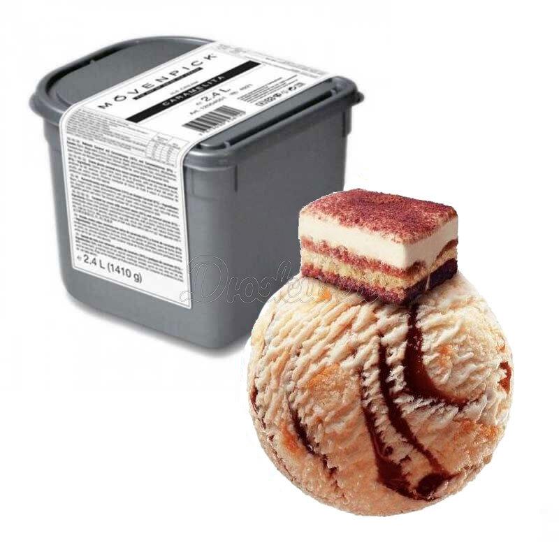Мороженое Movenpick тирамису 2,4 л 1 шт