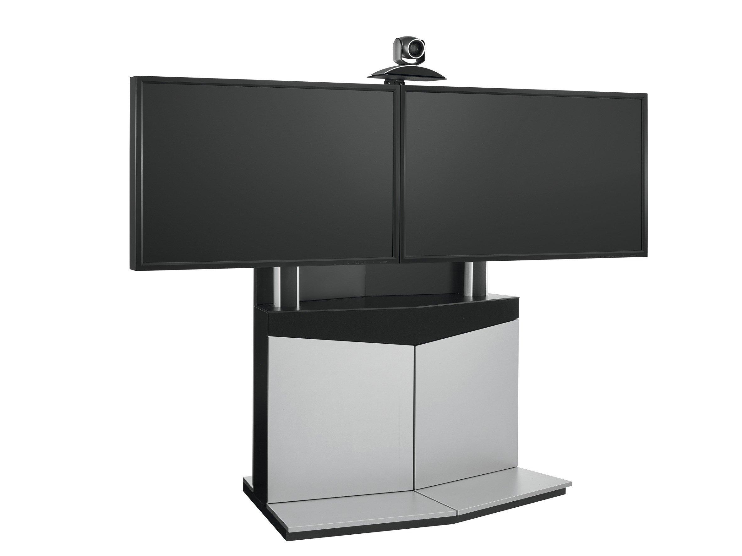 PFF 5211 Многофункциональный мобильный стенд для двух панелейдля видеоконференций(полная комплектация)