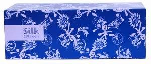Чистовье Салфетка бумажные 2-слойные вытяжные Silk 250 шт/уп