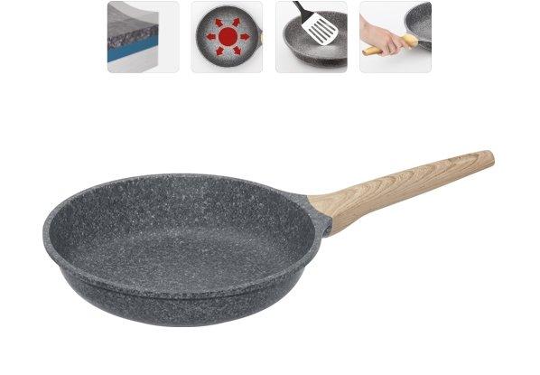Сковорода NADOBA MINERALICA с антипригарным покрытием, 24 см