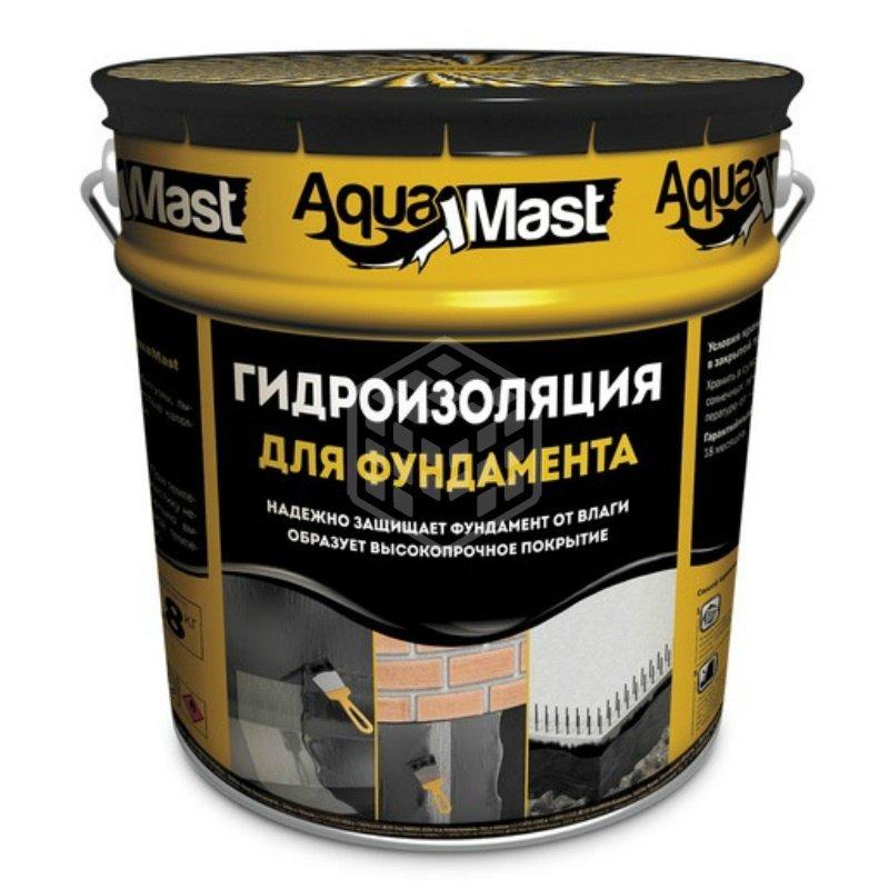 Мастика для фундамента Aquamast 18 кг