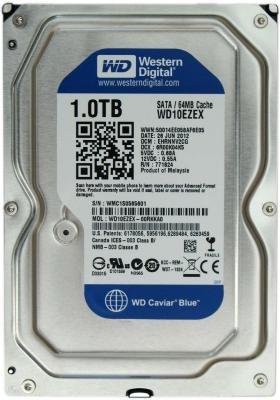 Жесткий диск, SSD и сетевой накопитель Western Digital WD10EZEX