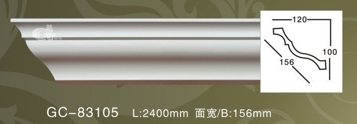 Лепнина Artflex GC83105 Карниз гладкий