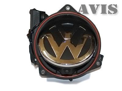 CCD штатная автоматическая камера заднего вида AVIS AVS325CPR (#108) для VOLKSWAGEN GOLF 6 / PASSAT B6 / PASSAT CC / SCIROCCO / TIGUAN / TOUAREG, инт