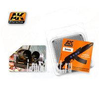 AK-226 AK Interactive Линзы прозрачные OPTIC COLOUR 3mm
