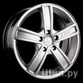 Racing Wheels H-412 7,5x18 5x100 ET 25 Dia 73,1 (BK F/P) - фото 1
