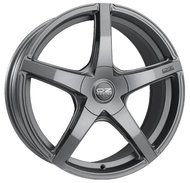 Колесный диск OZ Racing Vittoria Matt Dark Graphite 8xR17 ET45 5*114.3 D75.1 - фото 1