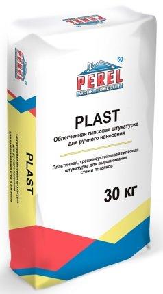 Гипсовая штукатурка Perel PLAST, серая, 30 кг