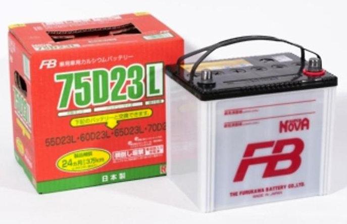 Аккумулятор автомобильный FB SUPER NOVA 75D23L 6СТ-65 обр. 28800-YZZJA 65Ач обр.