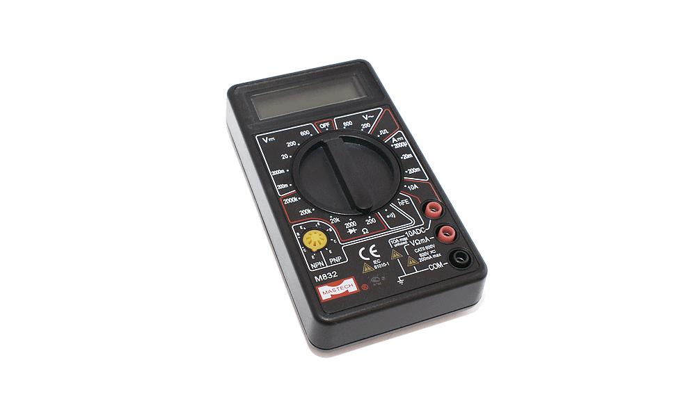 M832 Mastech мультиметр цифровой