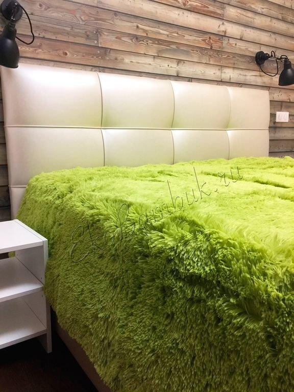Плед из бамбука экстра-класса Светло-зеленый 220х240