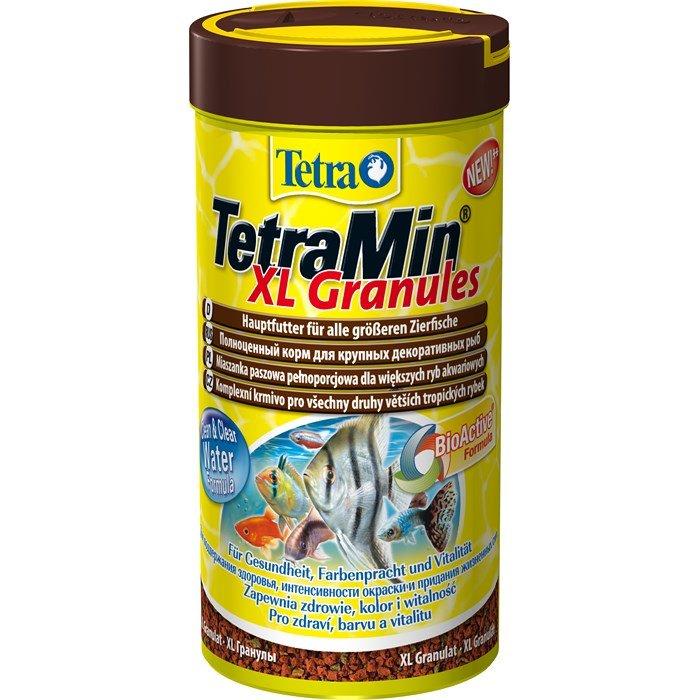 """Корм для всех видов рыб """"Tetra Min XL Granules"""" (крупные гранулы), 250 мл"""