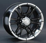 Диск LS Wheels 161 8x16 6/139,7 ET10 D93,1 BKL - фото 1