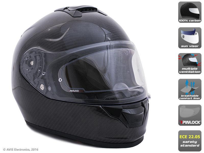 Шлем-интеграл FF05 Carbon