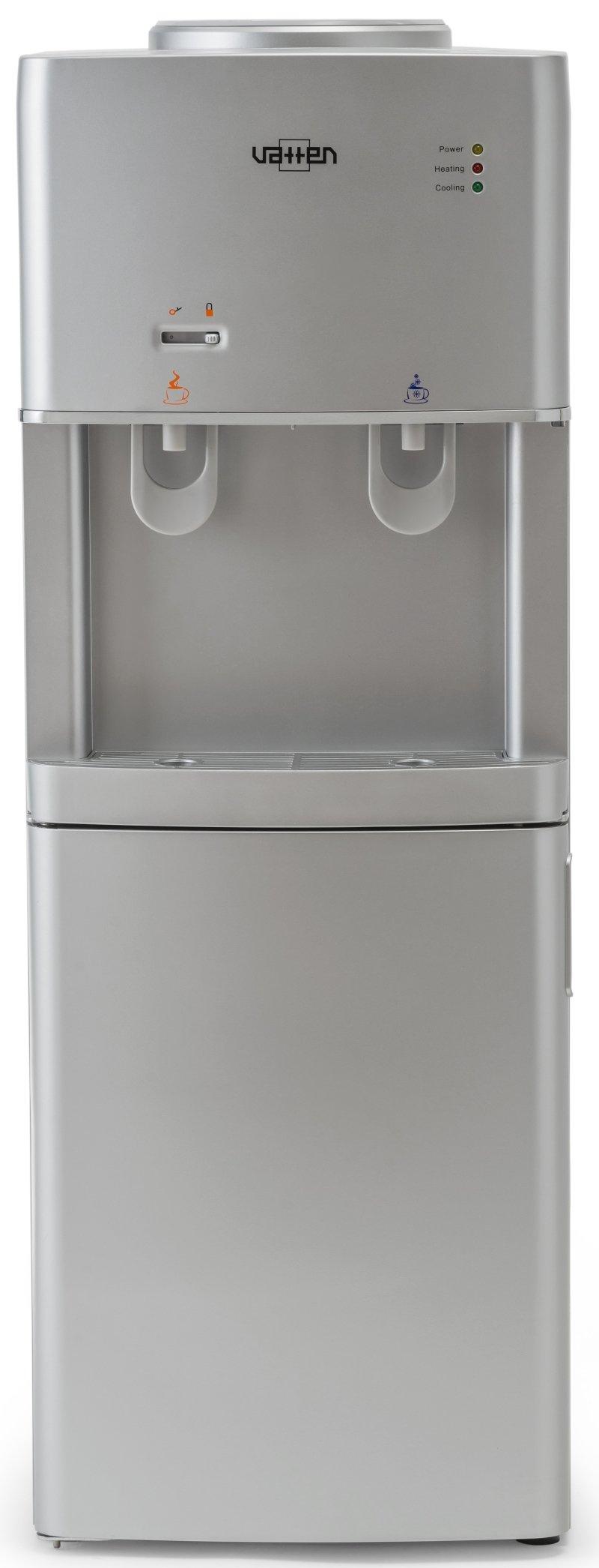 Кулер для воды Vatten V16SKA напольный, с нагревом и охлаждением