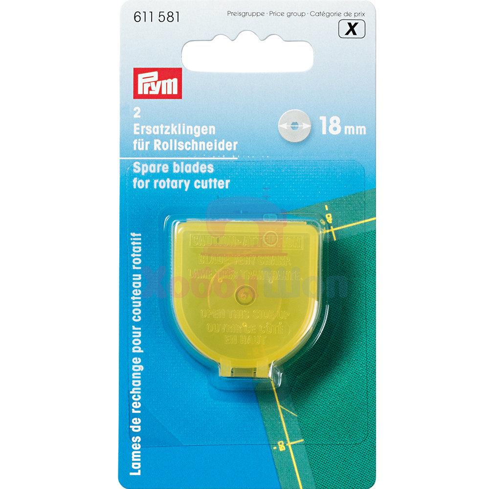 Сменные лезвия для раскройного ножа Super Mini Prym 18 мм 2 шт 611581