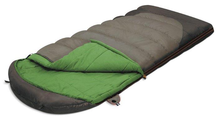 Спальный мешок Alexika Summer Wide Plus Серый левый