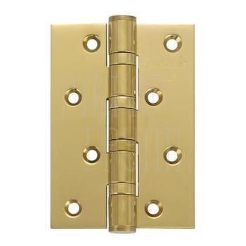 Дверные петли Петля дверная Archie A010-C (латунь) 102 мм матовая латунь