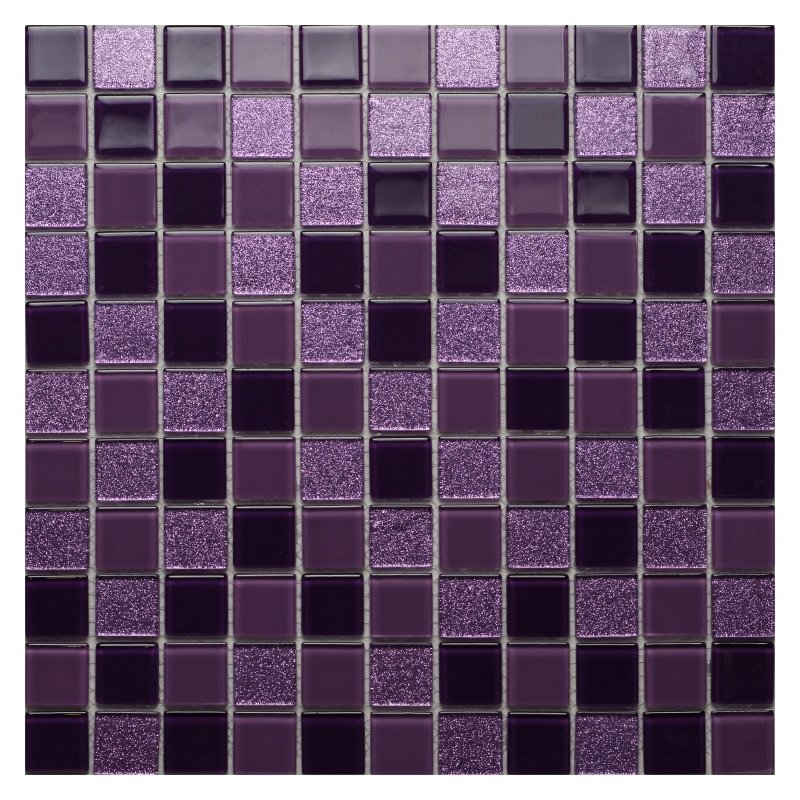 Стеклянная мозаика Orro Mosaic Cristal Violine 29,5х29,5 см
