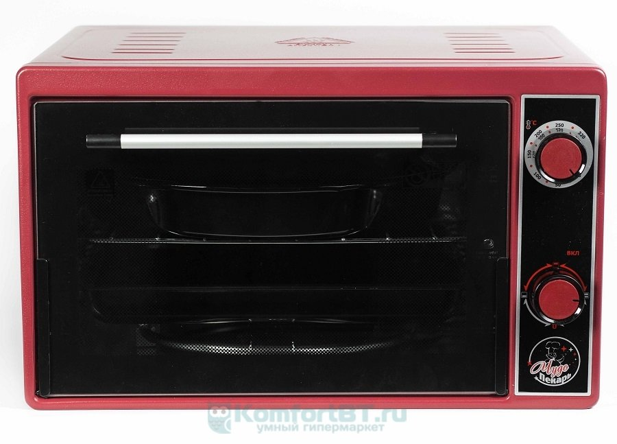 Мини-печь Чудо Пекарь ЭДБ-0122 красная