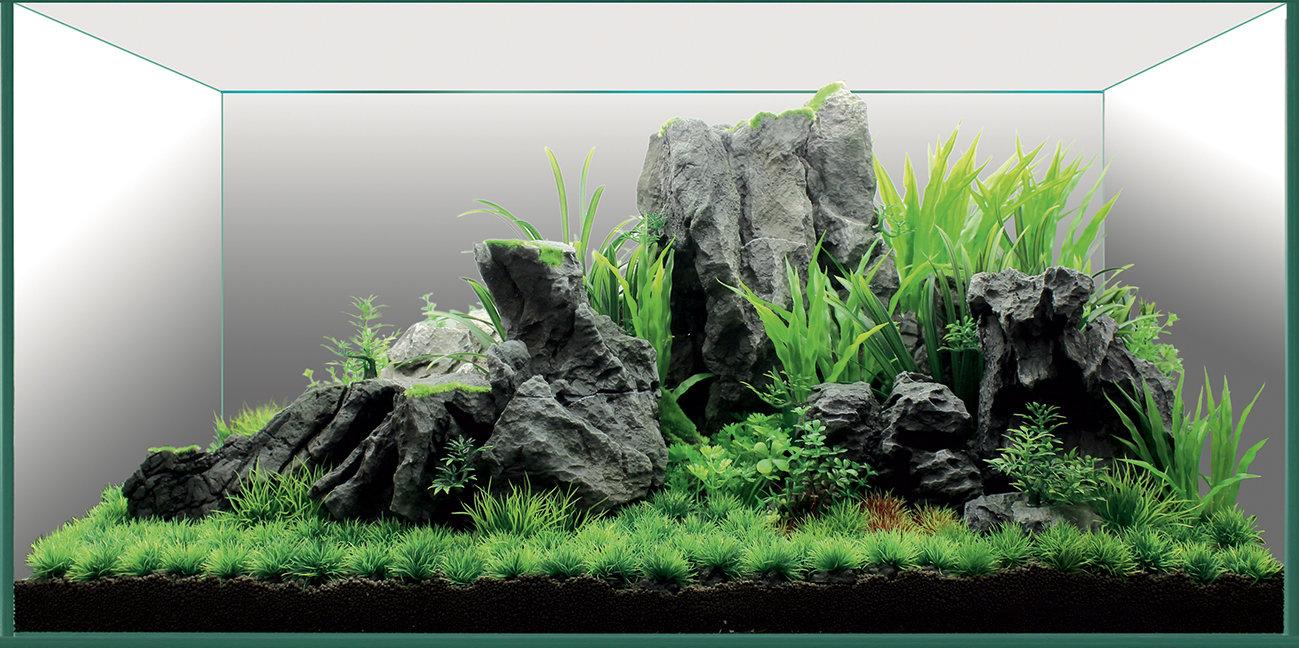 Набор декораций для аквариума ArtUniq «Горный хребет», 90?45?45 см