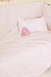 Комплект постельного белья с кружевами и бабочками