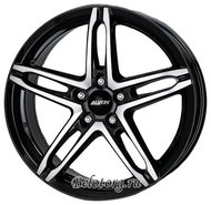 Диск Alutec Poison 7x16/5x108 D70.1 ET48 Diamond Black Front Polished - фото 1