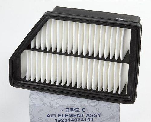 Воздушный фильтр двигателя SsangYong New Actyon (арт. 2314034101) ZI2314034101