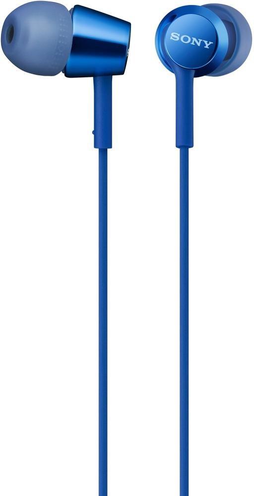 Наушники Sony MDR-EX155 (синий)