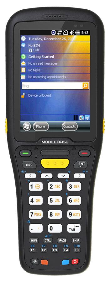 Терминал сбора данных DS5 (3.5inch, 2D imager, Wifi b/g/n, BT, WinEH 6.5, 512Mb RAM/1Gb ROM, Numeric, IP67, АКБ 5200 mAh, подставка)