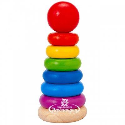 Plan Toys Деревянная пирамидка