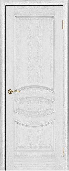 Межкомнатные двери Белорусские Двери (Белорусские Двери) Белорусские Двери Шпон Ницца Серебряная патина Глухая