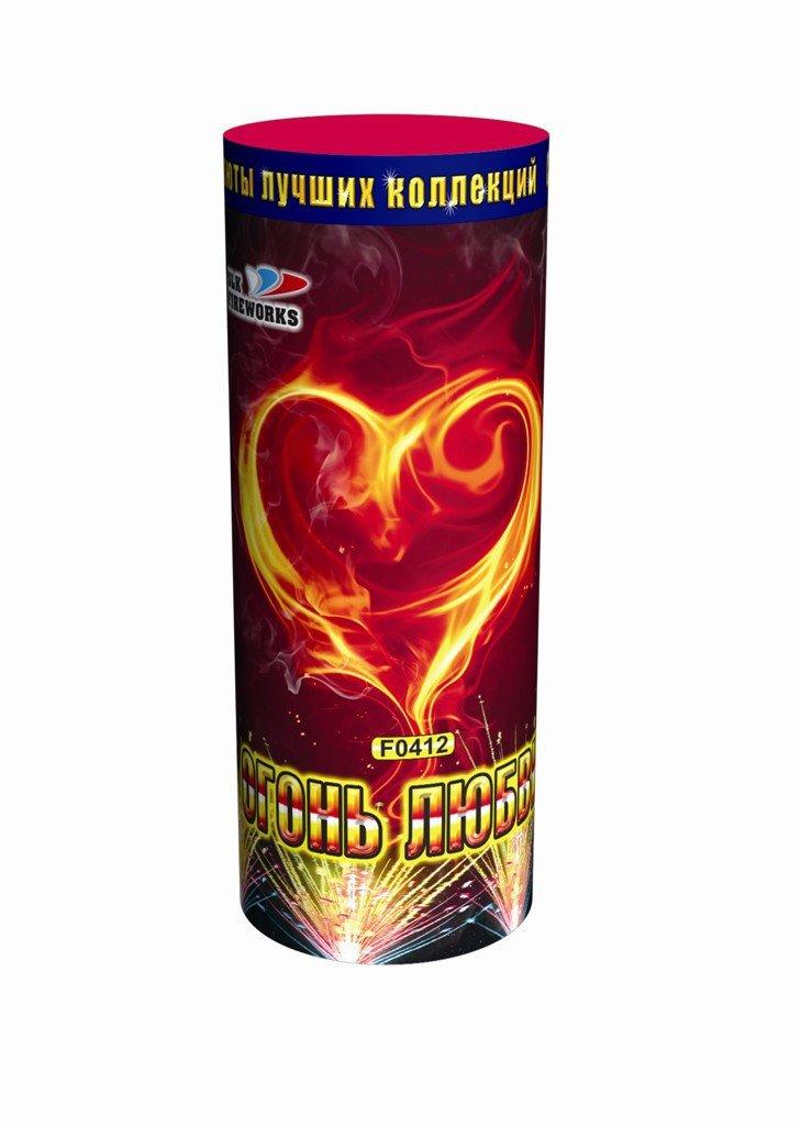 Салюты лучших коллекций Фейерверк, фонтан Огонь любви