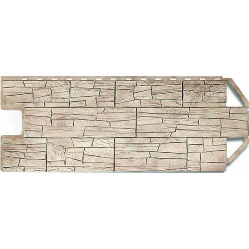 Цокольный сайдинг (фасадные панели) Аризона (45см)