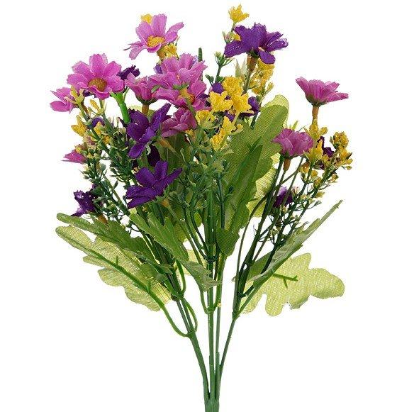 Искусственные цветы, длина 30 см.