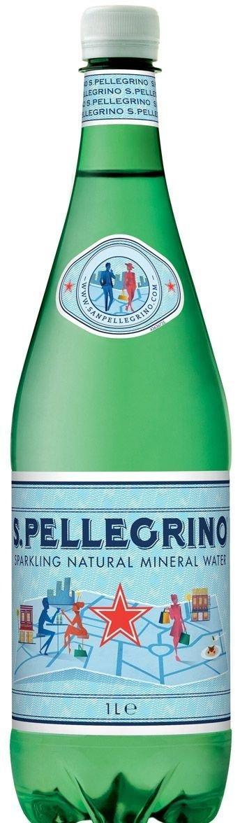 San Pellegrino вода минеральная, 1 л