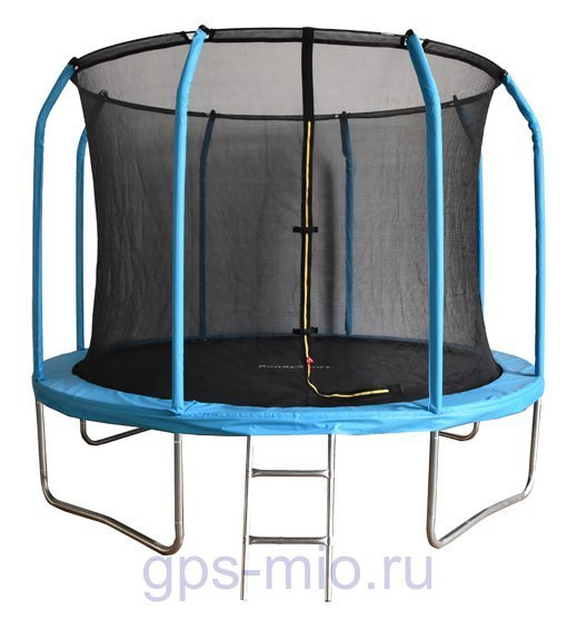 Батут Bondy Sport 10 ft 3,05 м с сеткой и лестницей (синий)