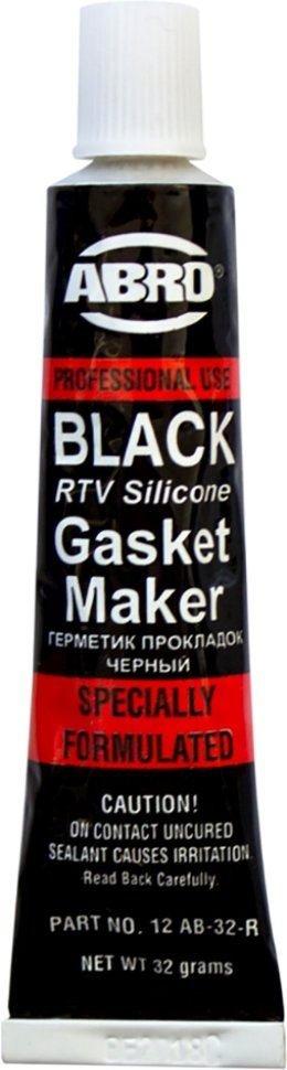 Герметик прокладок ABRO MASTERS (черный) 32 г