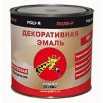Эмаль декоративная бронзовый Poli-R (Поли-Р) 160 Г